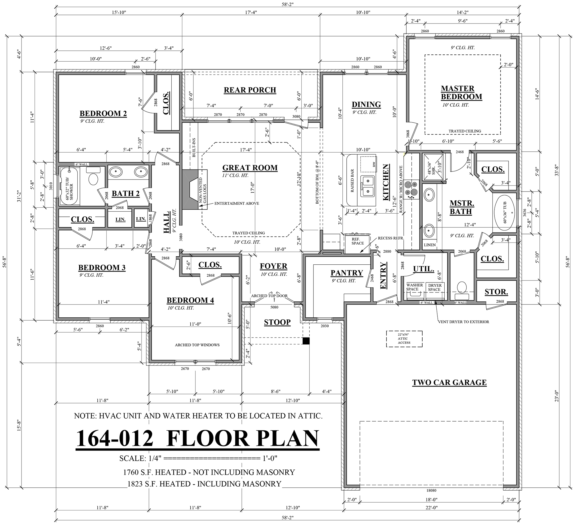 Sandstone village house plans flanagan construction Make house plans